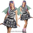 CK269 Monster High Rochelle Goyle Child Fancy Dress Girl Book Week Costume