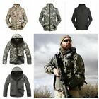 Mens' Waterproof Suit Outdoor Tactical Jacket Camping Outwear Coat Army Coat
