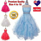 Special Occasion Girls Dress, Flower Girl Dress, Pageant Party Dress Size 4to18