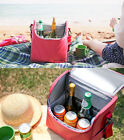 HIMORI Travelus Soft Cooler - Cube - Thermal Insulated Cooler Lunch /Wine Picnic
