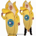 CL95 Appealing Banana Fun Food Fruit Funny Men Fancy Dress Bucks Party Costume