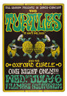 The Turtles Vintage Gig Poster T-Shirt Gents, Ladies & Kids Sizes. Psychedelic