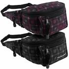 NEW MENS LADIES BUM BAG Travel Utility Handy Fanny Pack Waist SPIRALS Obsessed