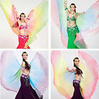 Belly Dance Costume 360° Gradient Colourful Isis Wings Performance Wings 9Colors