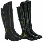 LADIES WOMEN FLAT FULL & HALF ZIP FULL FLEECE CASUAL WINTER SHOES BOOTS