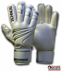 ICHNOS FINGERSAVE ADULT SIZE SOCCER GOALIE GOALKEEPER GLOVES PRE-CURVE CUT
