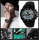 S-shock Mens 50m Waterproof Digital LCD Alarm Date Analogue Military Sport Watch