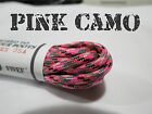 █ Armor Laces© █ Combat Tactical Boot Laces █ Breast CANCER Support █ NEW!!