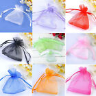 50X 7x9cm Organza Gift Bags Wedding Favor Candy Party Jewelry Pouch Colors LOT
