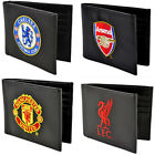 Premier League Football: Club Crest Leather Wallet Liverpool / Man Utd / Arsenal