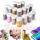 Galaxy Nail Art Transfer Foil Sticker Nail Art Tips Transfer Decal Decoration fb