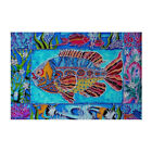"Needlepoint canvas ""Fish.beneath the sea """