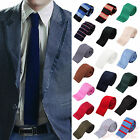 Stylish Mens Colourful Tie Knit Knitted Tie Necktie Narrow Slim Skinny Woven New