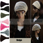 Hot New Style Women Bandanas Lace Head wrap girls chic turban Hair Band Headband