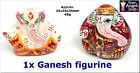 GANESH GANESHA GANAPATI SMALL POLYRESIN FIGURINE 3.5cm 45g FOR GOOD LUCK