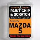 MAZDA 5 TOUCH UP PAINT Stone Chip Scratch Car Repair Kit 2005-2009