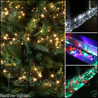 480 LED MULTI ACTION INDOOR OUTDOOR CLUSTER CHRISTMAS XMAS TREE FAIRY LIGHTS 6M