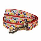 Blueberry Pet Designer Dog Leash Lead 6,5,4 ft with Vibrant Triangle Pattern