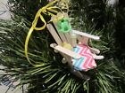 Baby's Rocking Chair Ornament - Girl/Boy, Birthday, Baby's First Christmas, or ?