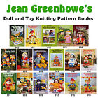 Jean Greenhowe's Supplied By Sirdar Fun Knit Doll And Toy Knitting Pattern Books