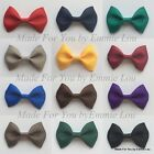 Baby/Girls/ Handmade 2.5 inch Princess Hair Bow Clips Bobbles SCHOOL COLOURS