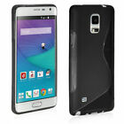 Slim Fit Black S line TPU Cover For Samsung Galaxy Note Edge (2014)