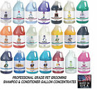 TP Pro Quality Pet Dog Cat Grooming SHAMPOOS & CONDITIONERS GALLON CONCENTRATE