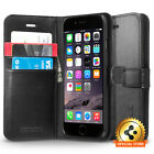 s-card - Spigen® [Wallet S] Card Slot Leather Case Flip Stand Cover For Apple iphone 6s