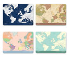 HIMORI World Map Passport Cover - Simple PVC Passport Cover Holder