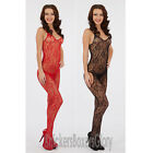 Sexy Lingerie Lace Bodystocking/Catsuit Size 10,12,14 Black, Red NEW