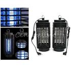 Electric Mosquito Fly Bug Insect Zapper Killer Trap Lamp Catcher Terminator UV