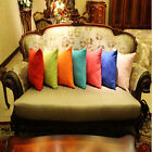 50x50cm Faux Suede Pure/ Candy Color Pillowcase Cushion Cover For Pillows new et