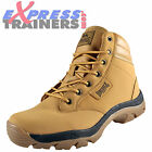 Lonsdale Mens Ormside Heavy Duty Leather Casual Work Boots Wheat *AUTHENTIC*