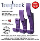 10x TOUGHOOK Super Strong Safety Coat Hooks for Schools UNBREAKABLE Plastic NEW