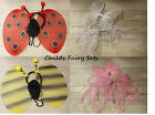 Girls fairy WINGS Set Fancy dress up sets Xmas Stocking Filler Present Gift