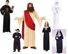Mens Ladies Priest Sister Mary Nun Mother Superior Religious Fancy Dress Costume