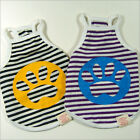 Dog/Cat Clothes Paw Printing Shirts_8510