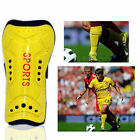 Kids Mens Athletic Soccer Football Shin Guards Pads Shinguard Ankle Protector