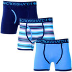 Crosshatch Neonic Pack of 3 Boxer Trunks Shorts  Mens Size