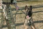 Tactical Quick Release Heavy Duty Panic Snap Adjustable Military Dog Leash Leads