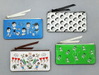 Flat Pouch Ver.2 Zipper Money Pencil Case Pouch Pocket by Oohlala
