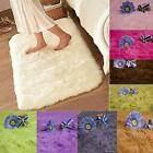 New Bathroom Foam Shaggy Rug Anti Slip Bath #S Bedroom Mat Shower Carpet 80x50cm