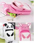High Capacity Double zipper Cute Cartoon Pencil Box Pen Case