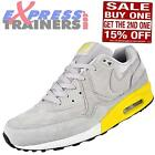 Nike Mens Air Max Light Premium Suede Leather Trainers Grey *AUTHENTIC*