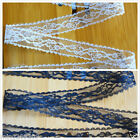 50 Yard Embroidered Net Lace Trim Ribbon 2 Color Select Width 2.3 CM #798