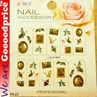 Color Printing Water Tranfer Nail Art Stickers Gift Halloween Witch Style 6-22