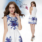 Ever Pretty Ladies Hot Printed Casual Cocktail Party Dresses 05209 Size 6-18