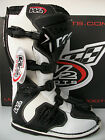 NEW WIND W2 ENDURO MOTOCROSS BOOTS WHITE LEATHER (ALL SIZES) MX CR KX RM YZ SX