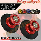 CNC Billet Racing Swingarm Spools Sliders M10 for Kawasaki ZX636 03-06