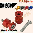 CNC Light Weight Swingarm Spools Sliders M8 for Suzuki SV1000 /S 03-07